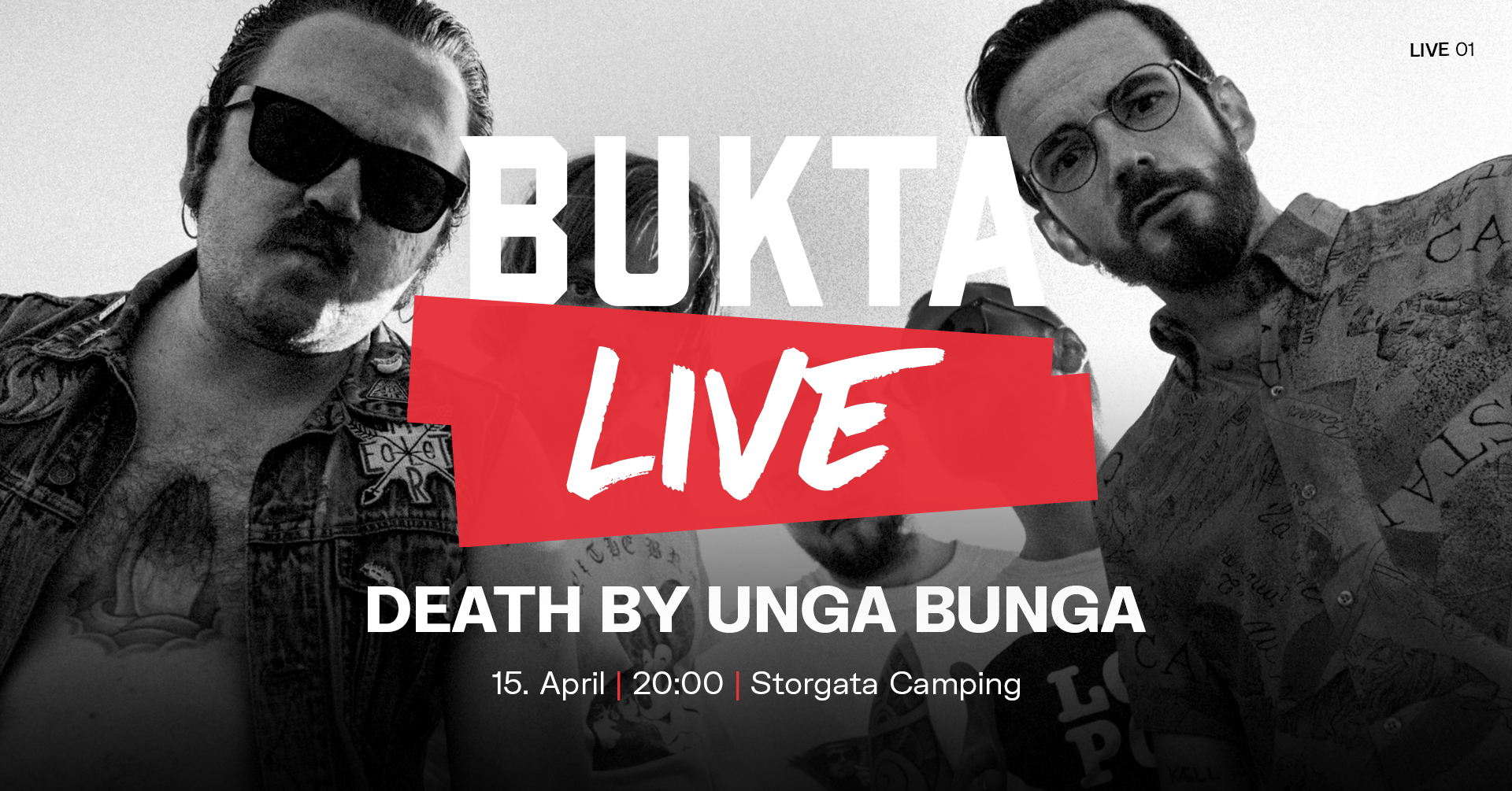 Death By Unga Bunga B Live 1